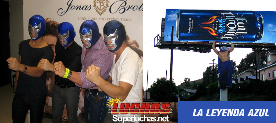 The Legendary Blue Demon Jr. To Headline Lucha Las Vegas' Debut