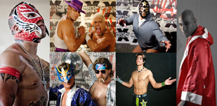 Wrestling Stars Shoot To Vegas For LLV: The Debut